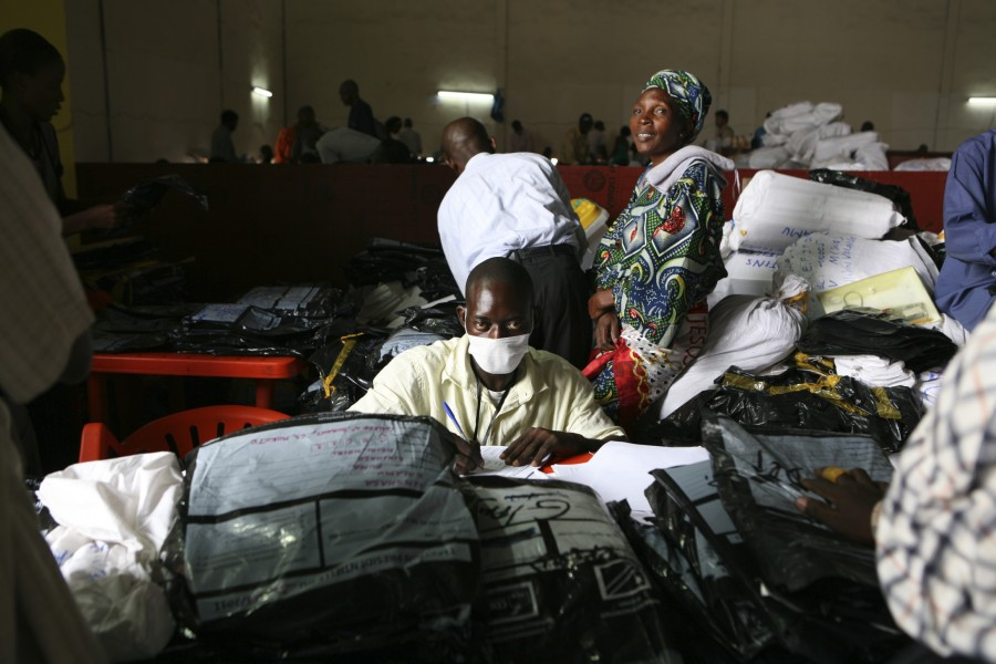 Congo Presidential Elections 2011. Reportage by Giampaolo Musumeci